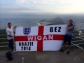 wigan gez for England